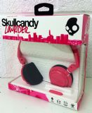 Skullcandy Lowrider Stereo Headphones Pink with Microphone S5LWFY-274